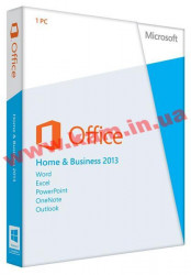 ПО Microsoft Office Home and Business 2013 32/ 64 Russian DVD (T5D-01761)