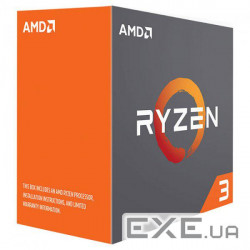 Процесор AMD AM4 Ryzen 3 1300XWith Cooler AMD AM4 Ryzen 3 1300X (YD130XBBAEBOX)