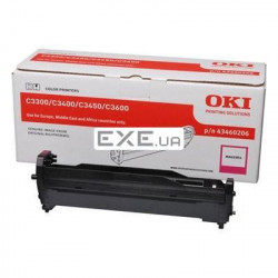Картридж OKI EP-CART Magenta forC3300/ C3400, 15 000 Pages (43460206) EP-Cart-M-C33/ 3400 (43460206)