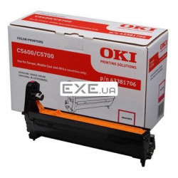 Картридж OKI EP-CART Magenta forC5600/ 5700, 20 000 Pages (43381706) EP-Cart-M-C5600/ 570 (43381706)