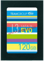 Накопитель Team 120GB L3 EVO 530/ 400MB/ s SMART, TRIM SATA III 7mm TLC 2.5 (T253LE120GTC101)