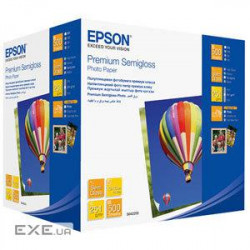 Фотобумага Epson 100mmx150mm Premium Semiglossy Photo Paper, 500л. Формат: 100мм х 150м (C13S042200)