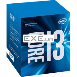 Процессор Intel Core i3-7100 3.9 GHz / 3M / 51W / socket 1151 BOX (BX80677I37100)