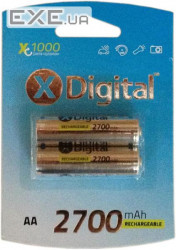 Аккумулятор X-DIGITAL HR06 Ni-MH 2700mAh (HR03 2700)