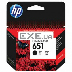 Картридж HP 651 BLACK INK CARTRIDGE (C2P10AE)