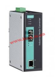 Industrial 10/ 100Base-Tx to 100-Fx Media Converter, Multi Mode, ST Fiber Connect (IMC-101-M-ST-IEX)