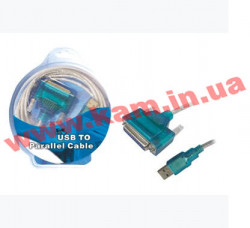 Конвертер Viewcon VE143 USB to DB25F (ЛПТ) (создает ЛПТ порт ) Viewcon USB-Сonverter VE143 U