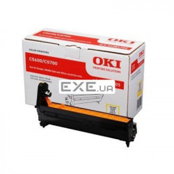 Картридж OKI EP-CART Yellow forC5600/ 5700, 20 000 Pages (43381705) EP-Cart-Y-C5600/ 5700 (43381705)