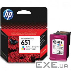 Картридж HP 651 TRI-COLOR INK CARTRIDGE (C2P11AE)