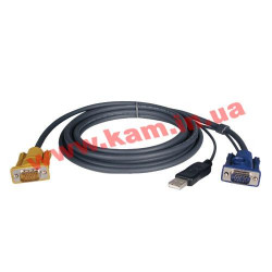 KVM USB Cable Kit for B020/ B022 Series Switches - 10 ft. (P776-010)