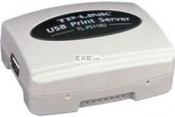 netw.a TP-LINK TL-PS110U USB Print Server Fast Ethernet принт-сервер с одним USB2.0 порт