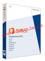 Програмне забезпечення Microsoft Office Professional 2013 32/ 64Bit Russian DVD (269-16288)