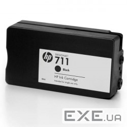 Картридж HP No.711 DesignJet 120/ 520 Black 80ml (CZ133A)