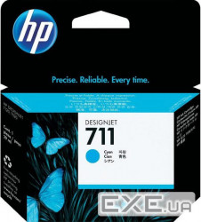 Картридж HP No.711 DesignJet 120/ 520 Cyan 3-Pack (CZ134A)