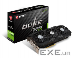 Відеокарта MSI nVidia GTX1070/ DUKE/ OC/ 8GB/ GDDR5/ 1797MHz MSI GeForce GTX 1 (GTX 1070 8G DUKE OC)