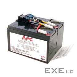 Батарея APC Replacement Battery Cartridge #48 Battery replacement kit for SUA750I (RBC48)