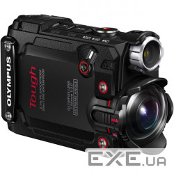 Экшн-камера OLYMPUS TG-Tracker Black (Waterproof - 30m, Wi-Fi, GPS) (V104180BE000)