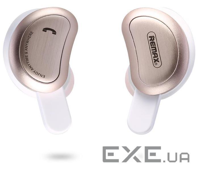 Навушники Remax True Wireless Bluetooth Earphone TWS-1 gold (TWS-1-GOLD) adeb5da726857