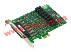 8 Port PCIe Board, w/ o Cable, RS-232/ 422/ 485, w/ Surge, w/ Isolation (CP- (CP-118E-A-I w/o cable)