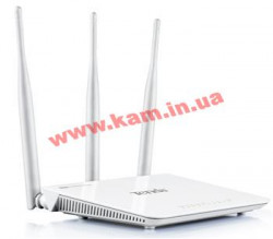 Интернет-шлюз Tenda FH303 802.11n N300 HighPower, 4port 10/ 100 (FH303)