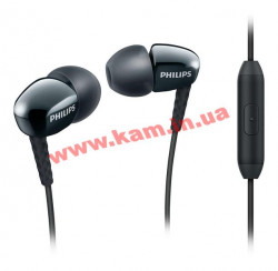 Наушники Philips SHE3905BK Mic Black (SHE3905BK/00)