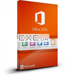 ПО Microsoft Office Home and Business 2016 32/ 64 Russian DVD P2 (T5D-02703)