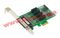 4 Port PCIe Board, w/ DB25M Cable, low profile, RS-422/ 485, w/ Surge, w/ Isola (CP-134EL-A-I-DB25M)