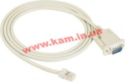 Кабель RJ45 в male DB9 RS-232 (DTE), длина 150 см (CN20060)
