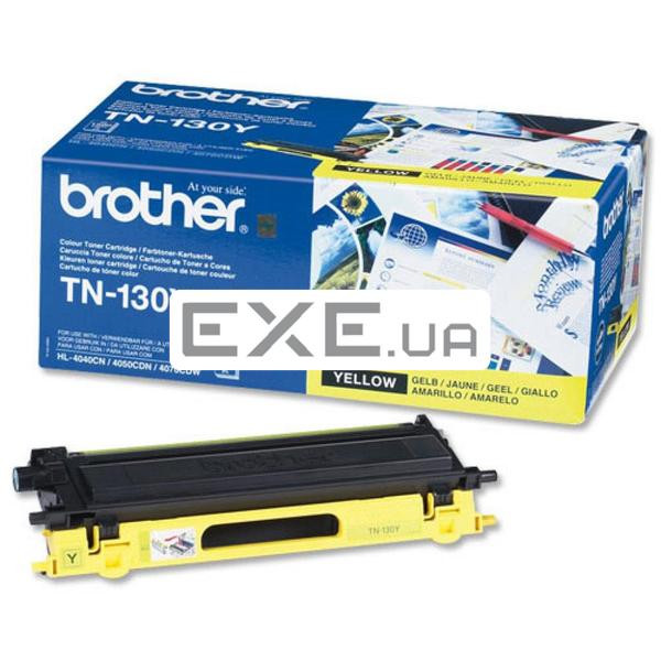 Картридж Brother для HL-40XXC, MFC-9440CN, DCP-9040 yellow Картридж 1 500 стр@5% (А4) для B (TN130Y)