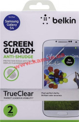 Защитная пленка Galaxy S4 Belkin Screen Overlay ANTI-SMUDGE 2in1 (F8M597vf2)