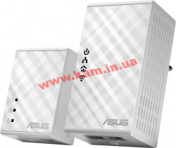Адаптер ASUS PL-N12 (2шт) Ethernet To Powerline N300
