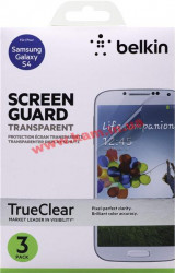 Защитная пленка Galaxy S4 Belkin Screen Overlay CLEAR 3in1 (F8M596vf3)