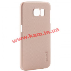 Чехол NILLKIN Samsung G920/ S-6 - Super Frosted Shield Gold (6218465)