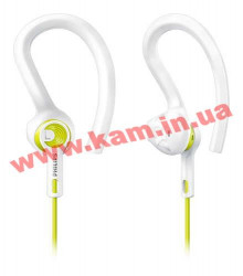 Наушники Philips ActionFit SHQ1400LF/00 Lemon Frost (SHQ1400LF/00)