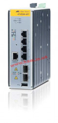 Managed Industrial switch with 2 x 100/ 1000 SFP, 4 x 10/ 100TX, no Wifi (AT-IE200-6FT-80)