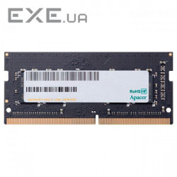 Оперативная память APACER SO-DIMM DDR4 2400MHz 4GB (AS04GGB24CETBGH)