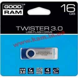 USB 16GB GOODRAM Twister Blue (UTS2-0160B0R11)