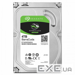 "Жёсткий диск 3.5"" SEAGATE BarraCuda 4TB SATA/ 256MB (ST4000DM004)"