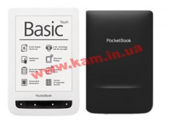 "Электронная книга 6"" PocketBook Touch 624 бело-черная (PB624-D-WW)"