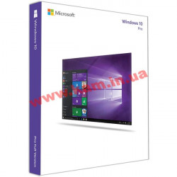 ПО Microsoft Windows 10 Pro 32-bit English 1pk DVD (FQC-08969)
