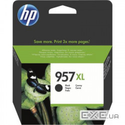 Картридж HP 957XL High Yield Black Original Ink C (L0R40AE)