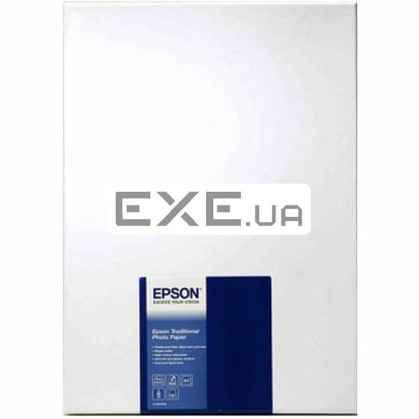 Фотобумага Epson A4 Traditional Photo Paper, 25л. Формат: А4; (C13S045050)