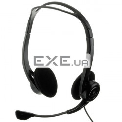 Гарнитура Logitech PC Headset 960 USB, 981-000100 Цифровая USB стереогарнитура PC Heads (981-000100)
