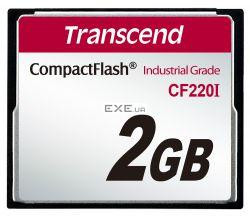 Карта памяти Transcend 2GB Industrial CF Card 220X (TS2GCF220I)