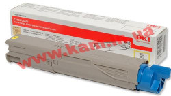 Картридж OKI Black Toner forC3300/ C3400/ С3450/ 3600, 1500 Pages, NON-EU(43459444) (43459444)