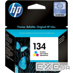 Картридж HP No.134 PS325 color, 14ml 500 стр@15%, 14 ml для DeskJet 460/ 5743/ 5943/ 6543/ (C9363HE)