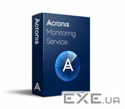 Acronis Monitoring Service