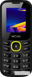 "Мобильный телефон Nomi i184 Dual Sim Black-Yellow, 1.8"" (220x176) TN / клавиатурный монобло (i184BY)"