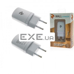 Сетевое З/ У 2E USB Wall Charger 1A White (2E-WCRT11-1W)
