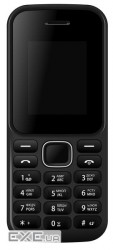 "Мобильный телефон Bravis F180 Ring Dual Sim Black, 1.8"" (160х120) TN / клавиатурны (F180 Ring Black)"